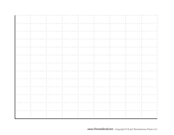 Blank Bar Graph Template Free Printable PDF – Free Graph Template