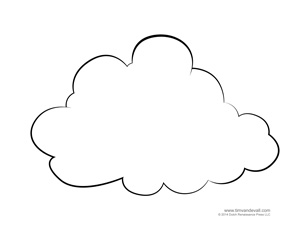 blank cloud template tim s printables