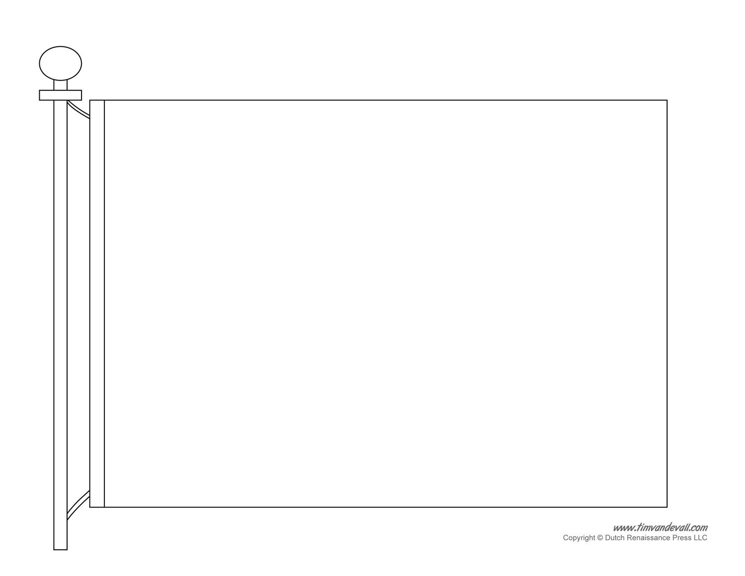 Invaluable image with regard to blank flag template printable