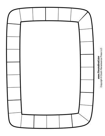 blank-game-board-template-350 - Tim\'s Printables