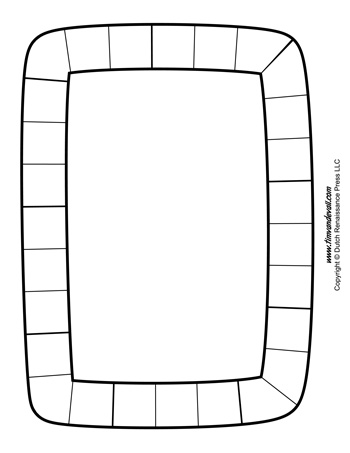 Board Game Template 4 Tim 39 s Printables