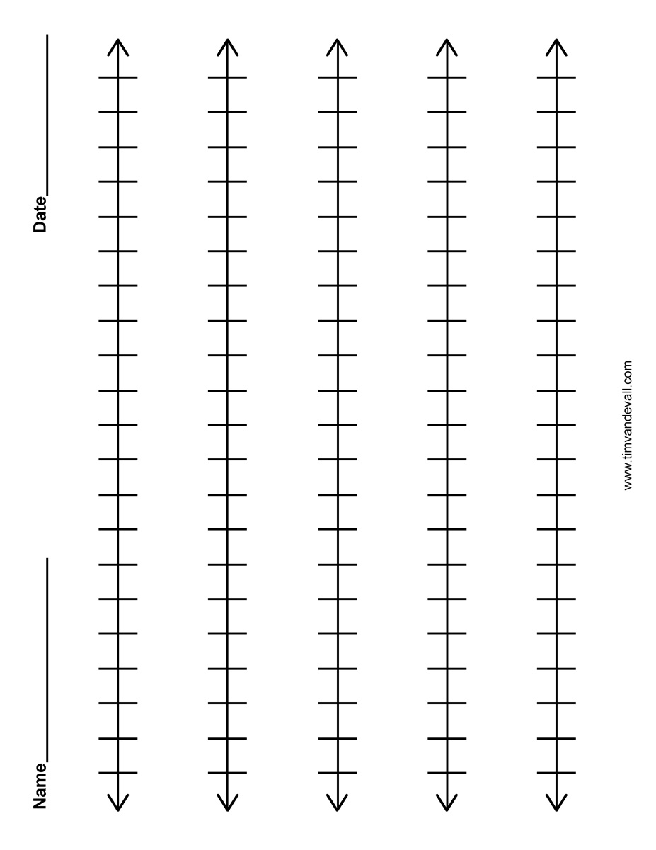 image about Blank Number Line Printable known as blank-range-line - Tims Printables