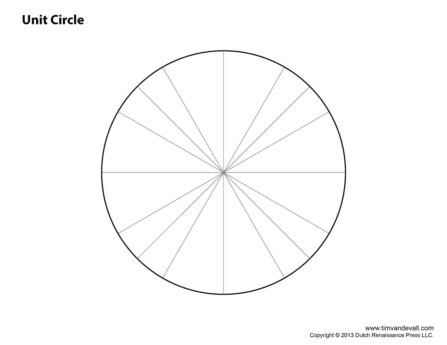 Ridiculous image pertaining to unit circle printable