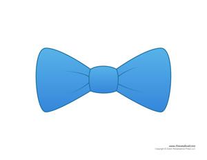 Blue Bow Tie