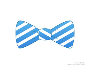 Bow Tie Template Printable