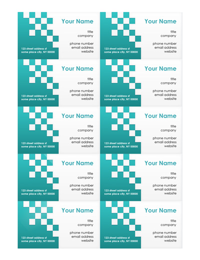 Microsoft word business card templates flashek Images