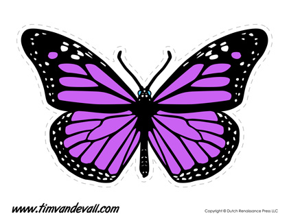 Shocking image intended for printable butterfly