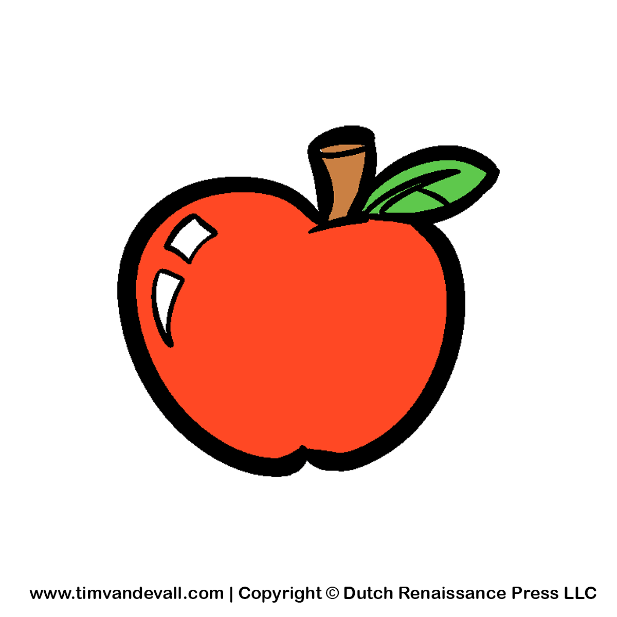 clipart picture of apple - photo #44