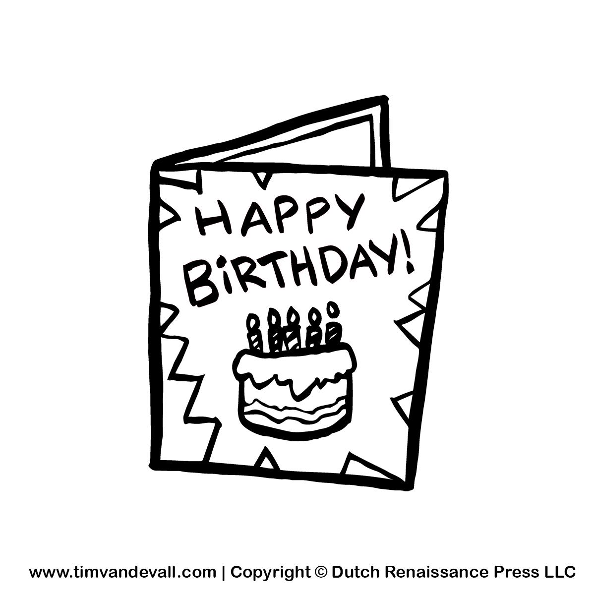 clip art free birthday cards - photo #9