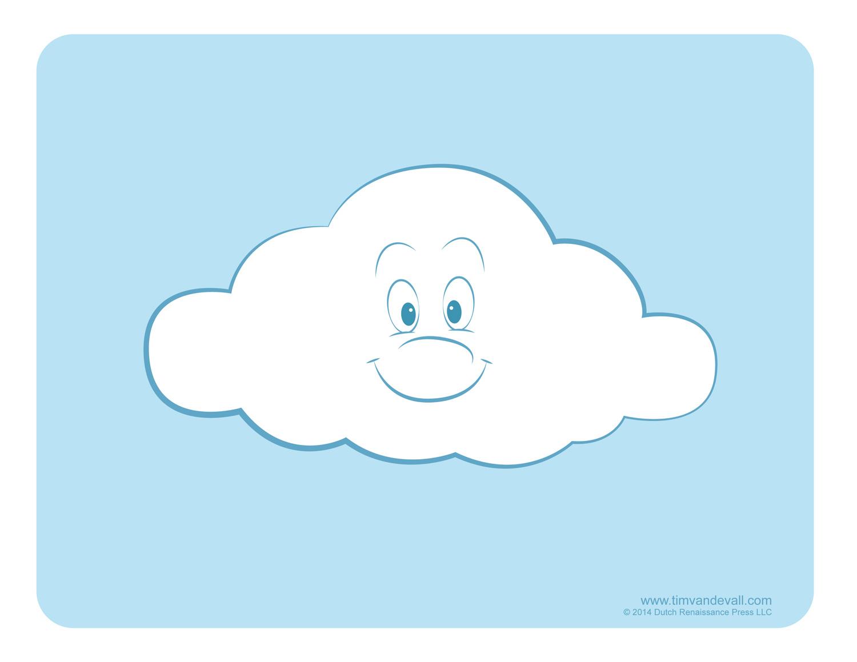 cloud art cloud clipart - Weather Pics For Kids