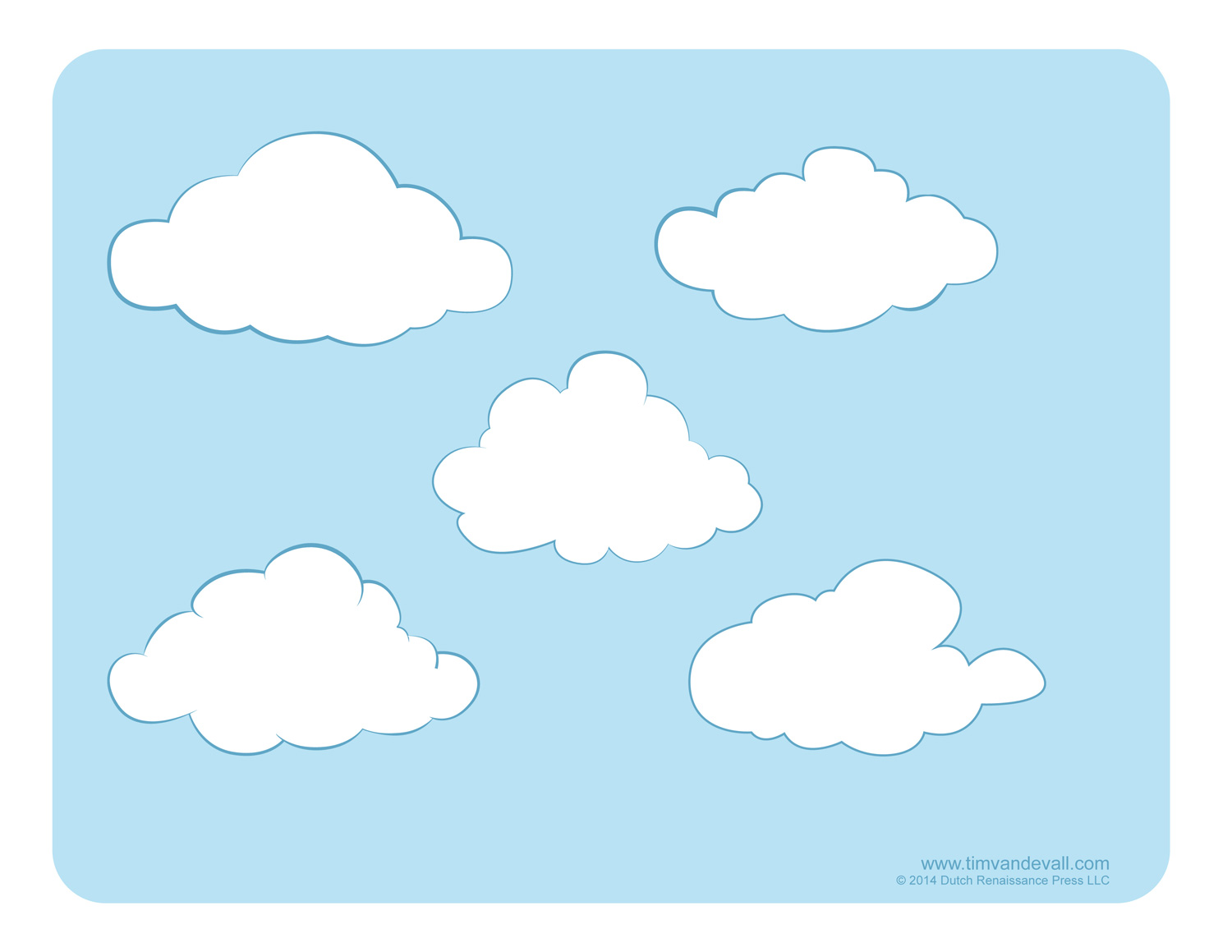 Decorate Science Classroom ~ Weather for kids free cloud templates and
