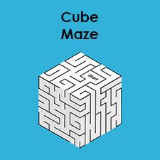 Cube Maze | Printable 3D Maze Puzzle