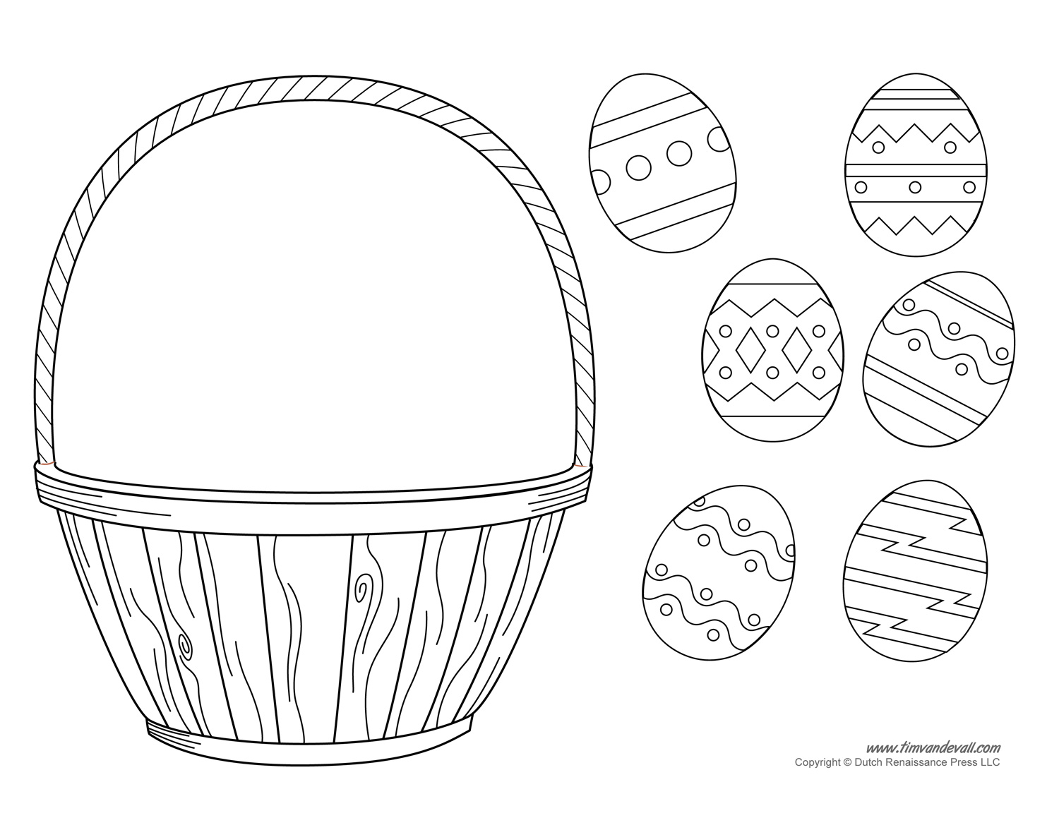 Easter basket template easter basket clipart easter craft easter basket craft pronofoot35fo Image collections