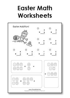 easter math worksheets tim s printables