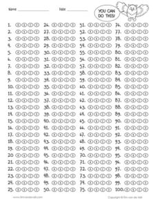 100-question-answer-sheet
