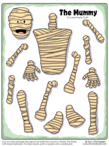 mummy-cut-and-paste-color