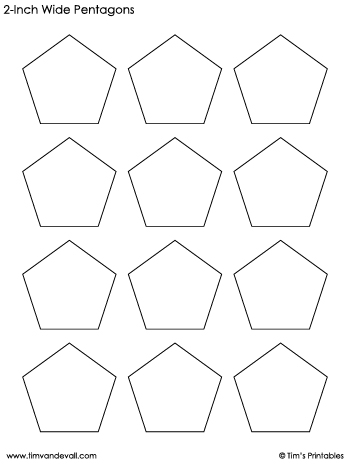 pentagon-templates-2-inch-wide
