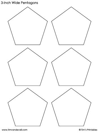 pentagon-templates-3-inch-wide