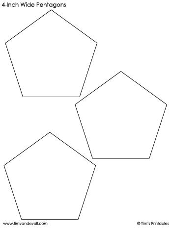 pentagon-templates-4-inch-wide