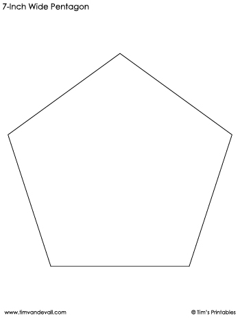 pentagon-templates-7-inch-wide