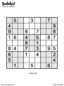 Sudoku 03
