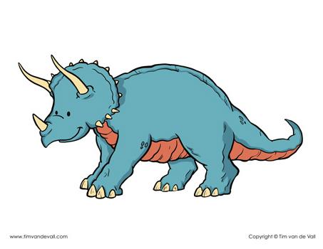 triceratops-printables