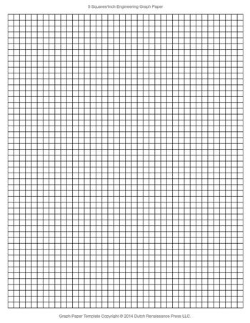 Engineering Graph Paper Template X Letter Printable Pdf