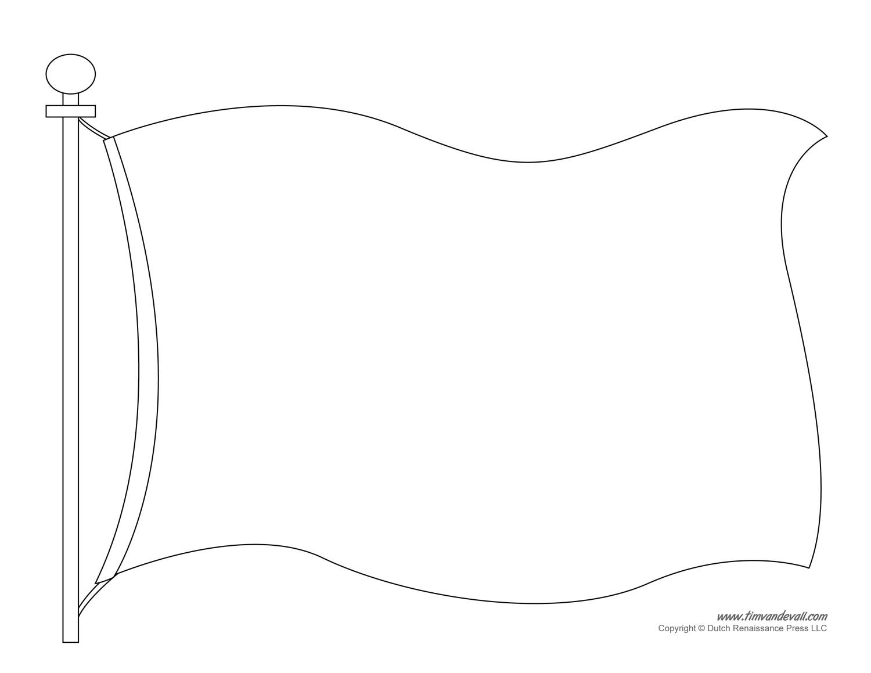 Halloween Home Design Games Flag Template 2 Black Amp White Tim S Printables