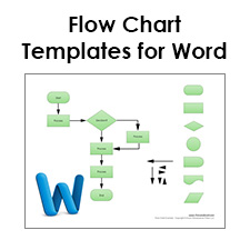 free flow chart template word