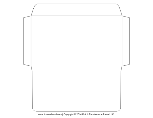 Tim van de vall comics printables for kids for Free envelope templates