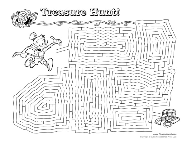 photo regarding Printable Maze for Adults named Absolutely free Printable Mazes