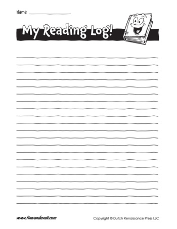 Free Printable Reading Log Templates Record Your Reading