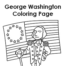 George Washington Img Jpg Coloring Page Of George Washington