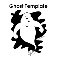 picture relating to Ghost Template Printable titled Ghost Templates
