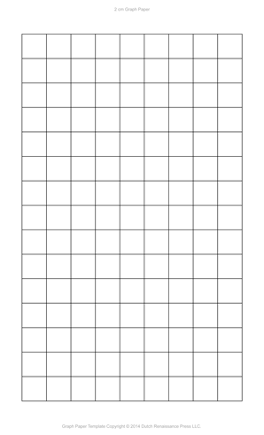 2 Centimeter Graph Paper, Legal PDF  Graphing Paper Printable Template