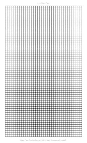 5 Millimeter Graph Paper, Legal PDF