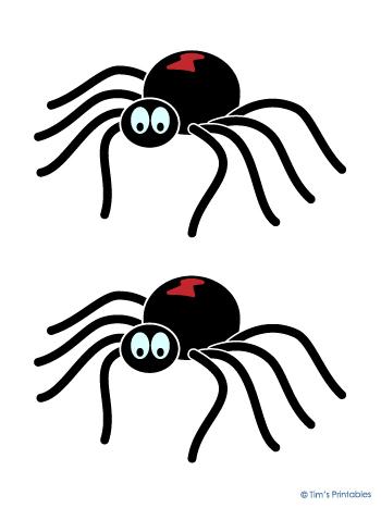 Printable Spider Decorations For Halloween Tim S Printables
