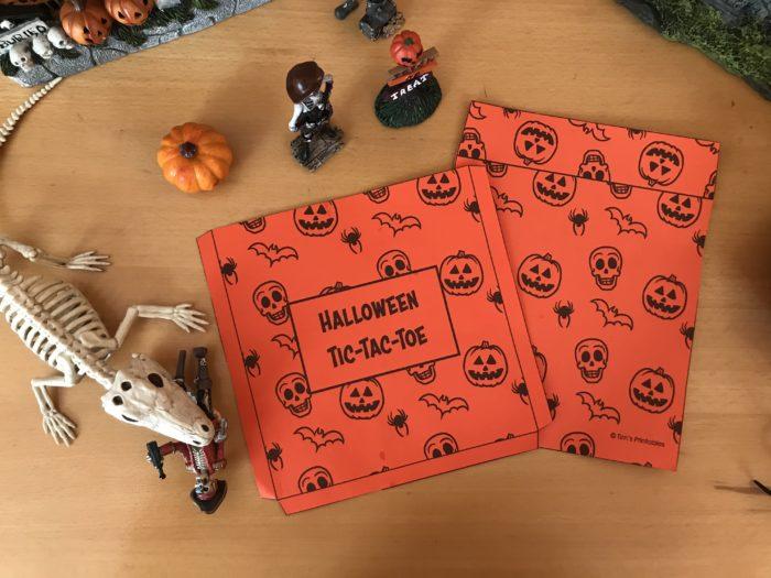 printable halloween envelope