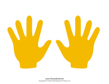 picture relating to Printable Handprint Template titled Tim van de Vall - Comics Printables for Little ones
