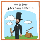 how to draw abraham lincoln drawing tutorial