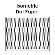 isometric dot paper