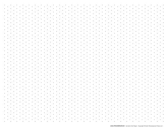 Isometric Dot Drawings Isometric Dot Paper Pdf