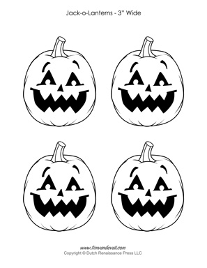 picture relating to Printable Jack O Lanterns titled Jack-o-Lantern Printable - Tims Printables
