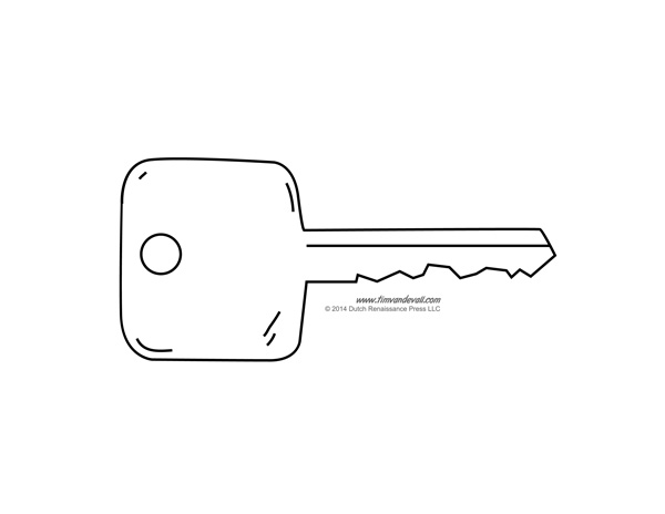 Key Stencil Printable Coloring Coloring Pages
