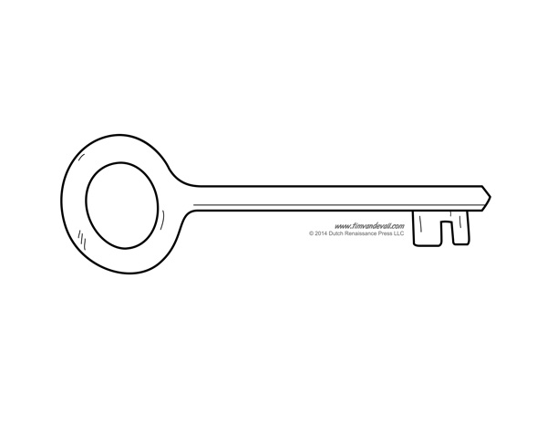 key clipart template - photo #14