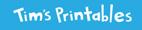 Tim's Printables header image