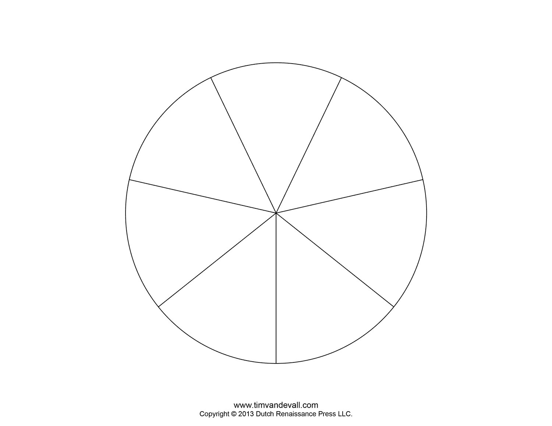Blank Pie Chart Templates : Make A Pie Chart
