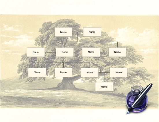 Free Family Tree Template Printable - Make Your Own Family Tree