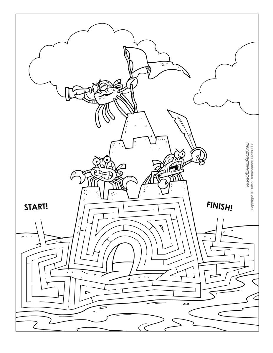 Sand Castle Maze