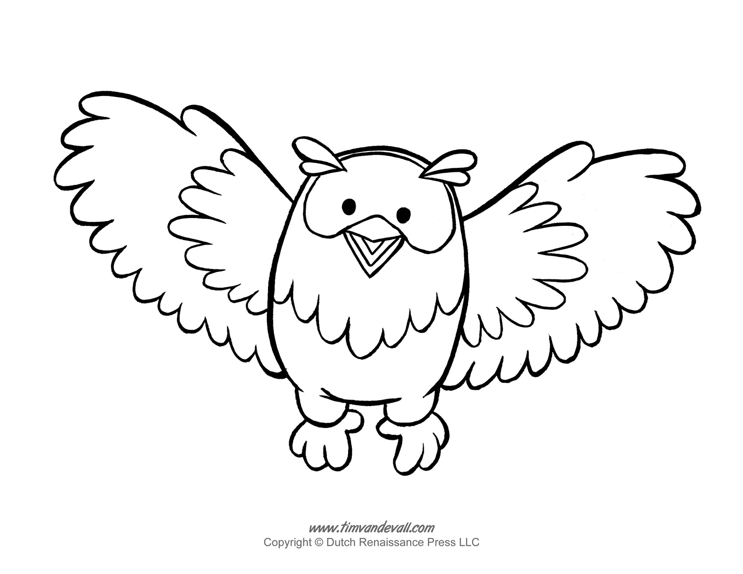 Printable Owl Template Owl Coloring Pages and Owl Clipart – Owl Template